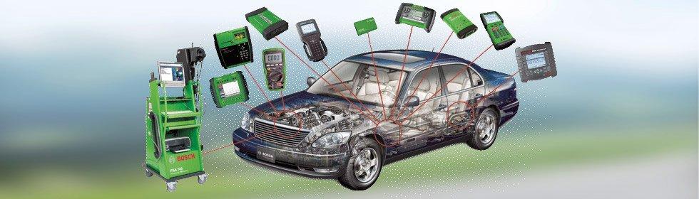 Automobilų kompiuterinė diagnostika
